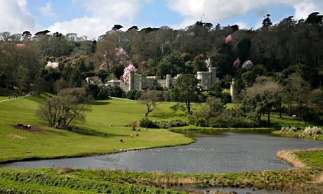 Country Diary : Caerhays castle as spring starts, Cornwall