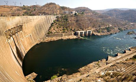 MDG : Kariba Dam, hydroelectric plant, Zambia, Zimbabwe