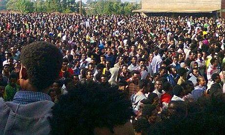 MDG : Ethiopi : Student protest in Ambo