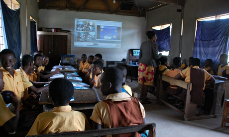 is one of 72 schools piloting the project – the first in Ghana ...