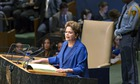 MDG : SDGs : Dilma Rousseff, President of Brazil 69th Session General Debate