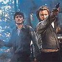 Orlando Bloom and Heath Ledger in Ned Kelly