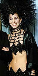 Cher at the 1986 Oscars ceremony