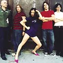 Juliette Lewis and her band, the Licks