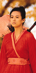 Zhang Ziyi in Hero