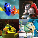 Pixar hits: Finding Nemo, Toy Story 2, Monsters Inc and A Bug's Life