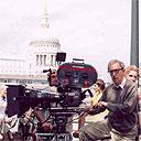 Woody Allen shooting in