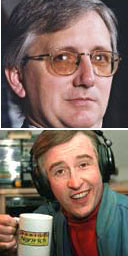 Craig Murray and Steve Coogan (as Alan Partridge)