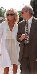 Pellicano with Farrah Fawcett in 1998
