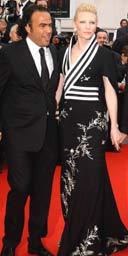 Alejandro Gonzalez Inarritu and Cate Blanchett, Babel premiere, Cannes 2006