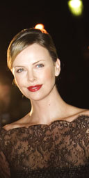 Charlize Theron, at the Edinburgh International Film Festival 60th party