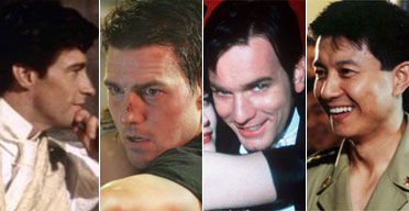 Hugh Jackman, Tom Cruise, Ewan McGregor and Ren Wei