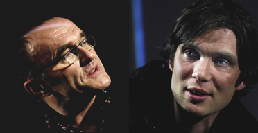 Danny Boyle and Cillian Murphy at the NFT in March 2007