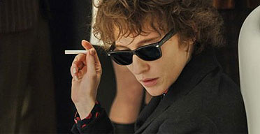 Cate Blanchett as Bob Dylan in I'm Not There