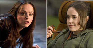 Christina Ricci and Ellen Page