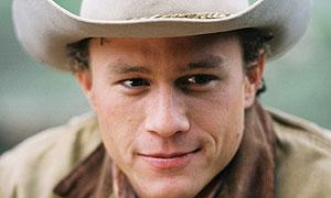 Heath Ledger in Brokeback Mountain