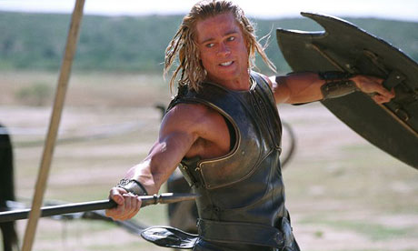 brad pitt pictures from troy. Brad Pitt in Troy
