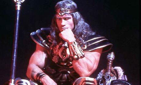 conan the barbarian movie. in Conan the Barbarian.