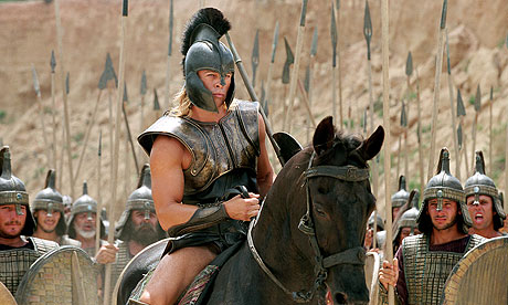 Troy: Brad Pitt as Achilles