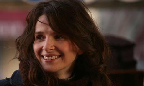 Juliette Binoche in Paris