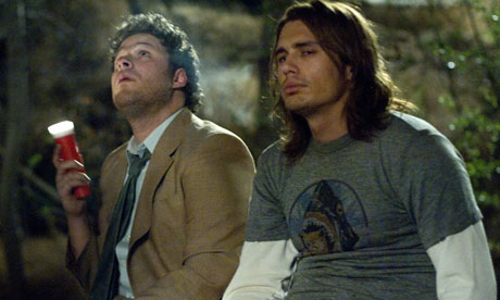James and Seth in Pineapple Express