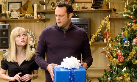 Reese Witherspoon and Vince Vaughn in the film Four Christmases