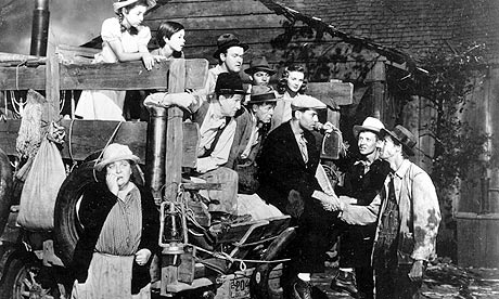a summary of the movie the grapes of wrath by john ford Contributing editor pat keane has penned here a fascinating account of the various endings of john steinbeck's the grapes of wrath (one ending) and john ford's.
