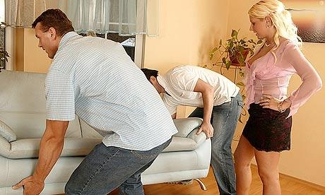 A scene from a porn film. Photograph: usefulphotography.com and kkoutlet.com