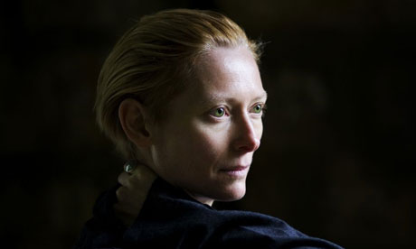 Portrait of Tilda Swinton