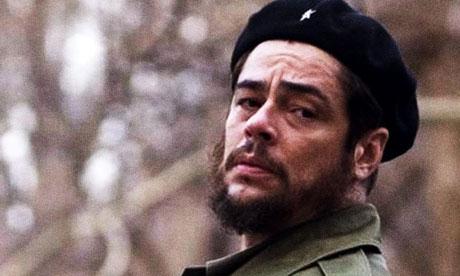 By the end of a Monday, I felt it was Friday ... Benicio Del Toro in Che