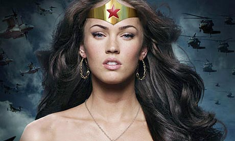 Hot Megan Fox Posters. a hoax poster of Megan Fox