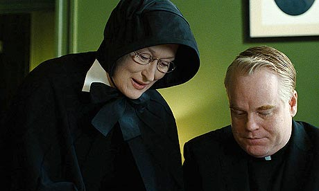 Meryl Streep and Philip Seymour Hoffman in Doubt