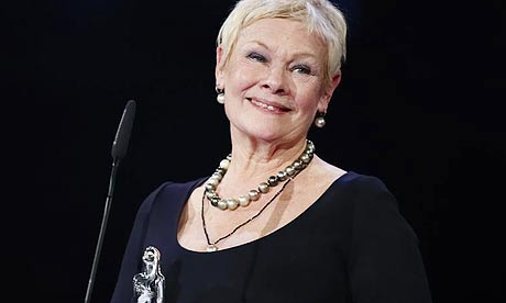 Dame Judi Dench Receives The