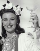 Ginger Rogers with drink