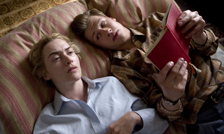 kate winslet the reader. Kate Winslet and David Kross