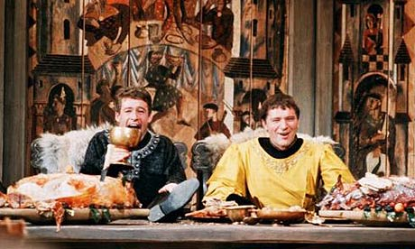 Peter O'Toole and Richard Burton in Becket