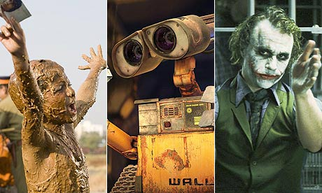 Predicted nominees for Oscars 2009: Slumdog Millionaire, WALL-E and The Dark Knight