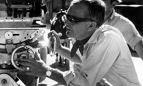 Sam Peckinpah on the set of The Wild Bunch