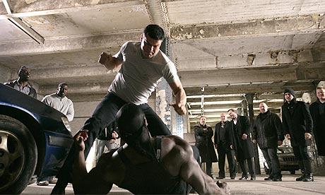 Scene from Dead Man Running (2009)