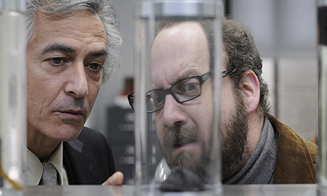 David Strathairn and Paul Giamatti in Cold Souls (2009)