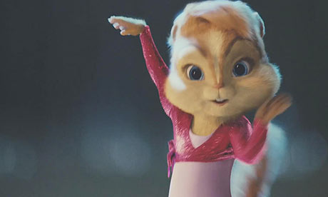 Scene from Alvin and the Chipmunks: The Squeakquel