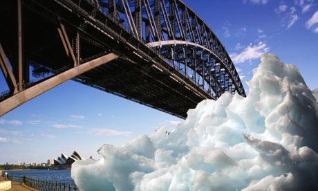 Iceberg in Sydney