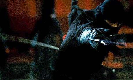 Scene from Ninja Assassin (2009)