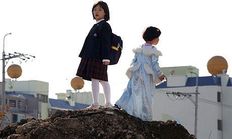 Scene from Treeless Mountain (2008)