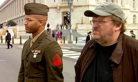 Still from Michael Moore's Fahrenheit 9/11 (2004)