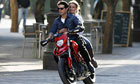 Tom Cruise and Cameron Diaz filming Knight & Day in Seville