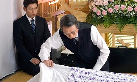 Scene from Departures (Okuribito)