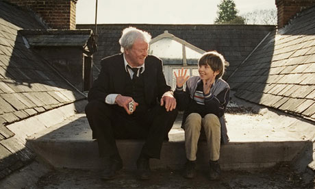 Michael Caine and Bill Milner in Is Anybody There?