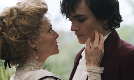 Michelle Pfeiffer and Rupert Friend in Cheri