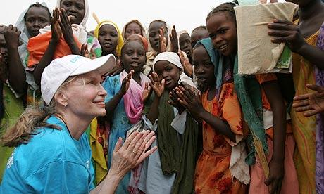Mia Farrow darfur